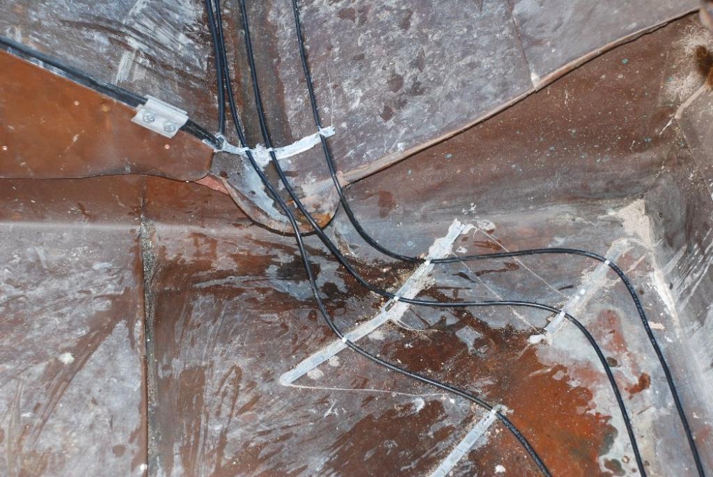 Oprava topných kabelů